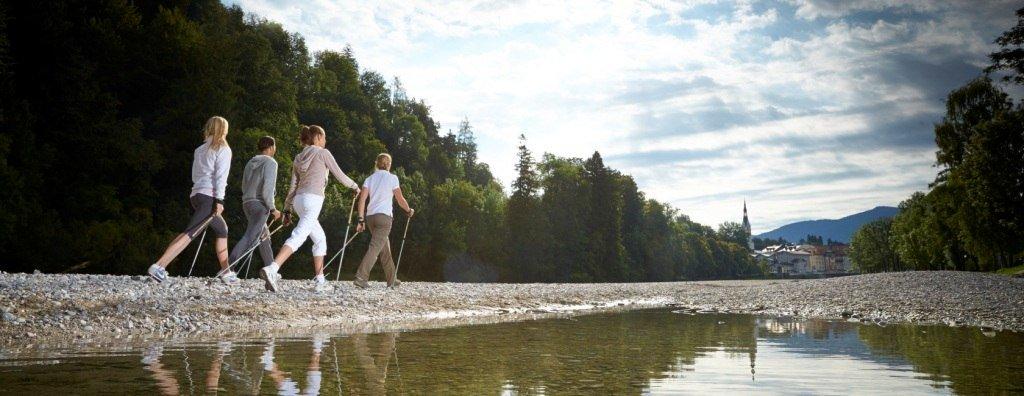 Nordic Walking, © Bayerischer Heilbäder-Verband e.V.