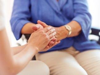 Pflege Hände