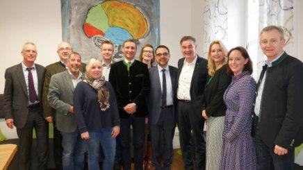 Der Vorstand des BHV in Bad Alexandersbad