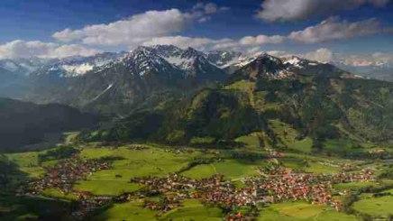 Blick auf Bad Hindelang, © Bad Hindelang Tourismus