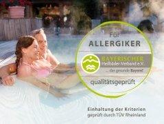 Zertifizierte Allergikerfreundlichkeit Bad Füssing, © Kur- & GästeService Bad Füssing