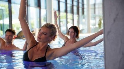 Thermalwasser hilft beispielsweise bei Muskelverspannungen oder Rheumatismus, © Bayerischer Heilbäder-Verband e.V.