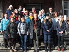 Start des Präventionsprogramms in Bad Reichenhall mit Pflegekräften und Projektpartnern, © Bayerischer Heilbäder-Verband e.V.