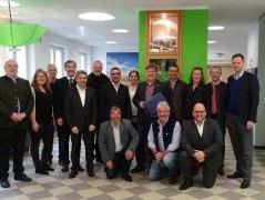 Der Vorstand des Bayerischen Heilbäder-Verbandes in der neuen Tourist-Info Bodenmais, © Bodenmais Tourismus & Marketing GmbH