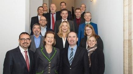Wirtschaftsminister Hubert Aiwanger beim Vorstand des Bayerischen Heilbäder-Verbandes.