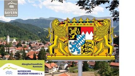 Mit der Qualitätsoffensive Allergikerfreundliche Kommune des Bayerischen Heilbäder-Verbandes e.V. erreicht Bayern europaweit die Spitzenposition, © Bayerischer Heilbäder-Verband e.V.