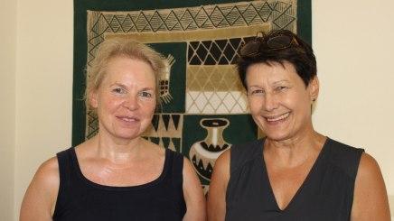 Wünschen sich Präventionsprogramme von den Krankenkassen: die Pflegekräfte Inge Aschauer (links) und Hildegard Klein