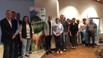 Teilnehmer des leistungsstarken Netzwerks der allergikerfreundlichen Kommune Bad Hindelang, © Bad Hindelang Tourismus