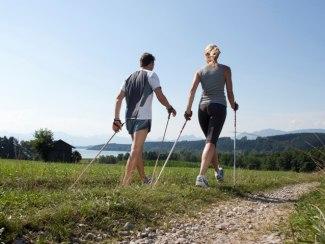 Nordic Walking als Präventionsmaßnahme, © Bayerischer Heilbäder-Verband e.V.